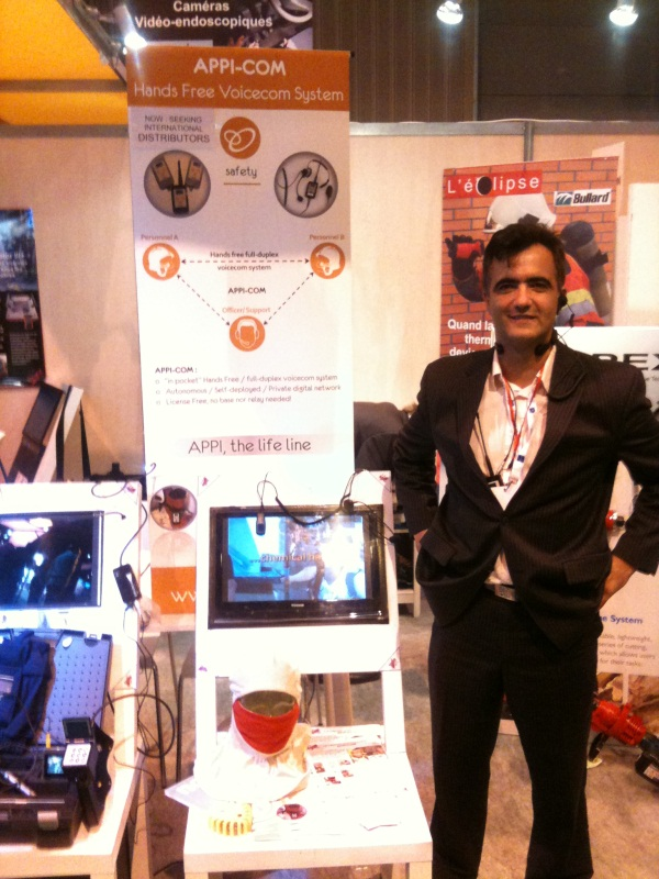 Bodysens au salon milipol du 18 au 21 oct for Salon milipol
